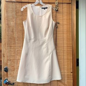 Andrew Marc sleeveless blush dress chic office